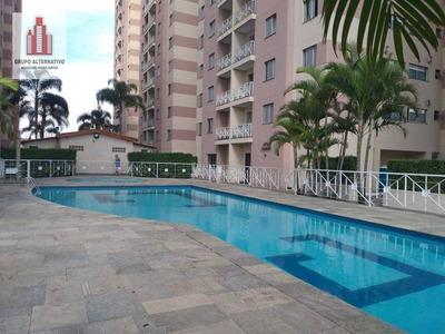 Apartamento Com 2 Dormitórios Para Alugar, 67 M² Por R$ 1.580/mês - Chácara Califórnia - São Paulo/sp - Ap1078