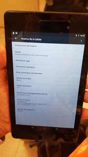 Tablet Nexus 7 2da (2013) 16 Gb