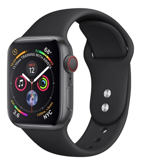 Pulseira Esportiva De Silicone Apple Watch 42/44mm Serie 4