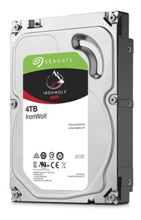 Disco Duro Seagate Iron Wolf 4tb St4000vn008 5900rpm 64mb