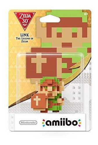 Enlace De Nintendo 8 Bits: The Legend Of Zelda Amiibo -