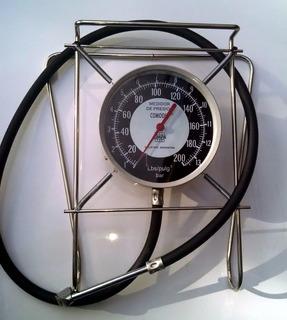 Manómetro Comodin Medidor Presión Neumáticos Cimpa 200 Lbs