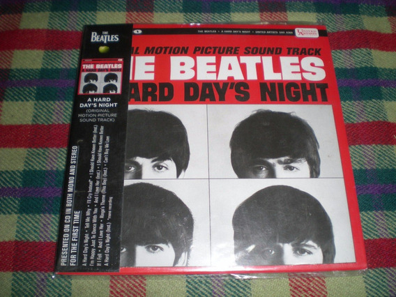 The Beatles / A Hard Day S Night - Cd Digipack Mono Stereo