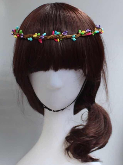 Headband Tiara Guirlanda Arco De Cabeça Hippie