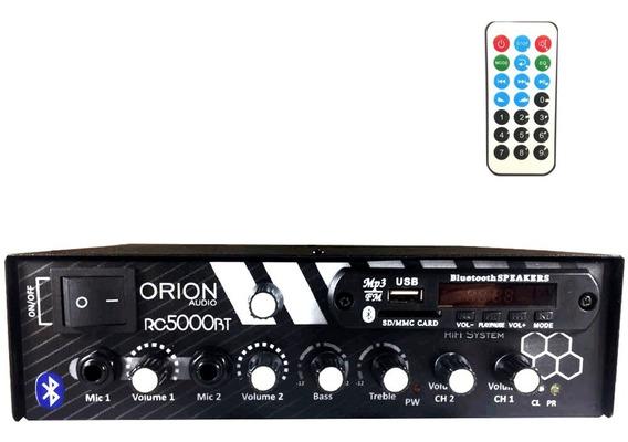 Amplificador Som Residencial Comercial 300w Rms 2 Canais