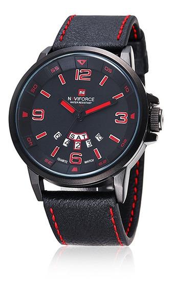 Relógio Naviforce 9028 Original Resistente À Água Na Caixa