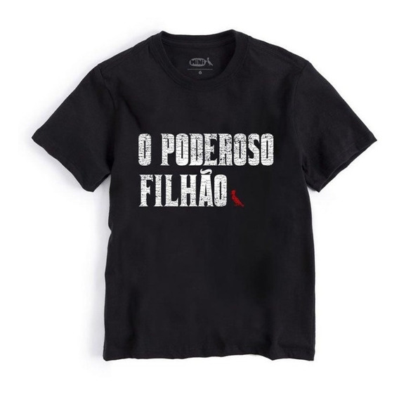 Camiseta Mini Poderoso Filhão Reserva Mini