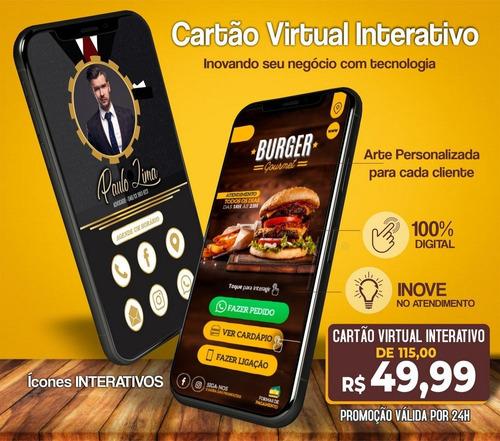 Imagem 1 de 1 de Cartão Interativo Para Whatsapp Em Promoção