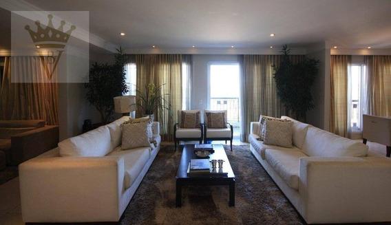 Apartamento Com 3 Dormitórios À Venda, 380 M² Por R$ 6.900.000 - Alto De Pinheiros - São Paulo/sp - Ap3667