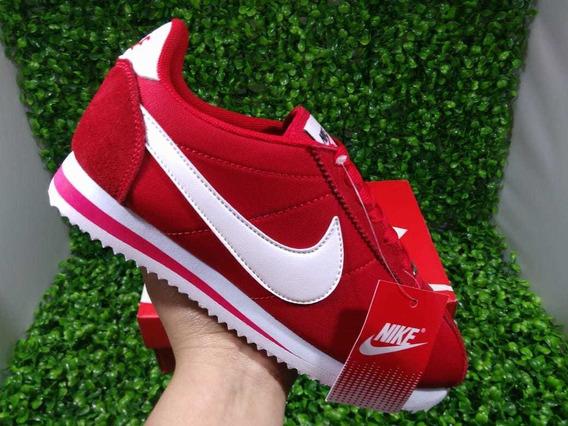 zapatillas nike cortez rojas