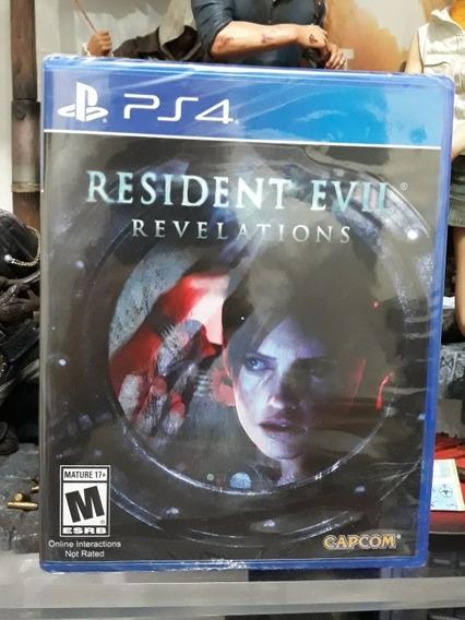 Jogo Game Resident Evil Revelations Playstation 4 Lacrado Ps4
