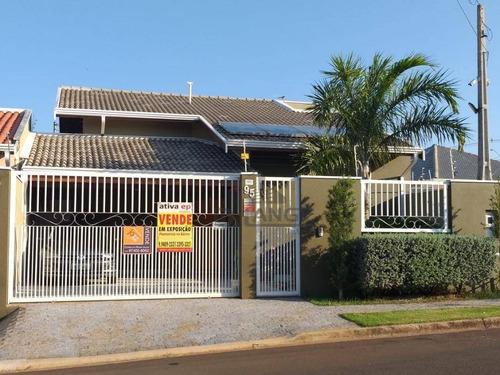Casa Com 3 Dormitórios À Venda, 125 M² Por R$ 645.000,00 - Residencial Terras Do Barão - Campinas/sp - Ca13695