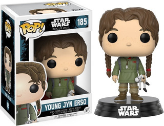 Funko Pop Young Jyn Erso 185 Star Wars Muñeco Original