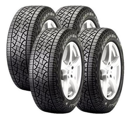 Jogo 4 Pneus Pirelli Lt265/75r16 123s Scorpion Atr Wl