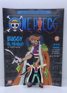 Coleccion Figuras One Piece Salvat Nº 11 Buggy El Payaso