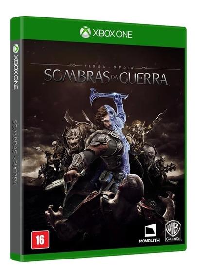 Sombras Da Guerra Xbox One Mídia Física Xone