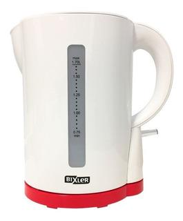 Pava eléctrica Bixler PEB-03A blanca y roja 1.7L