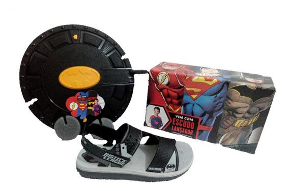 Papete Sandalia Infantil Homem Aranha Spide Man Rider Batman