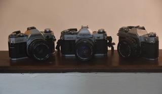 Camaras Analogies Canon Ae1 Canon A1 Polaroid Y Otras Marcas