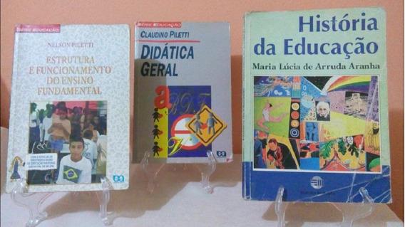 Didática Geral Ensino História Educação Piletti Arruda Aranh