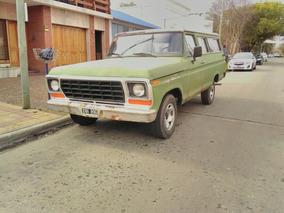 Ford F100 Carrozada 1976 Titular Al Dia Permuto X Saveiro