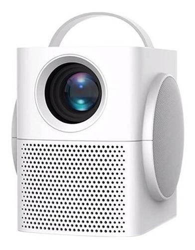 Projetor Led H1 3000 Lumens Som Bluetooth  Espelhamento Hd