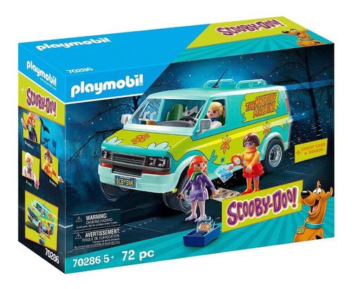 Playmobil Scooby Doo 70286 - La Maquina Del Misterio Furgon
