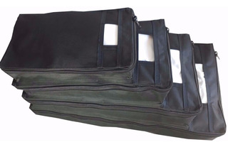 Kit C/2 Porta Sacolas De 4 Medidas Supermercado Lojas Feiras