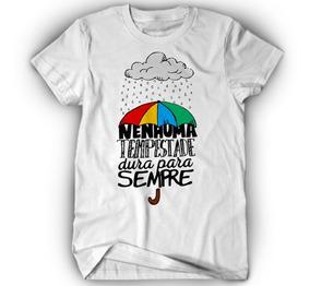 8d66611987 T Shirts Modernas Femininas Com Frases Fe - Camisetas e Blusas com o ...