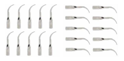 20 Punta De Escalado Ultrasónico Dental Scaler P1 Para Ems