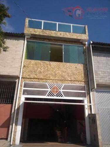 Sobrado Para Venda Em Embu Das Artes, Jardim Dom José, 3 Dormitórios, 3 Suítes, 1 Banheiro, 2 Vagas - So0609_1-1009859