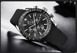 Reloj Benyar De Cuarzo Deportivo Para Hombre