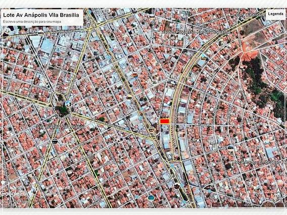 Terreno À Venda, 485 M² Por R$ 600.000,00 - Vila Brasília - Aparecida De Goiânia/go - Te0083
