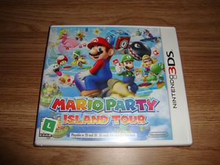 Mario Party Island Tour Americana Lacrada Para 3ds