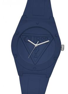 Reloj Guess W0979l4 Blue Retro Pop Navy Silicona Watch Fan