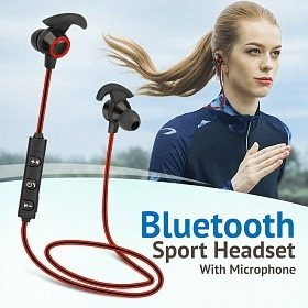 Fone Para Esportes Bluetooth (stereo) Com Microfone