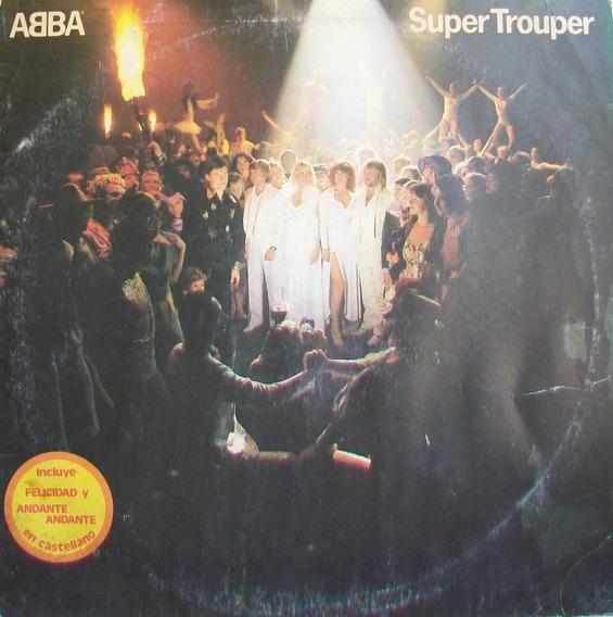 Abba - Super Trouper Disco Vinilo Lp