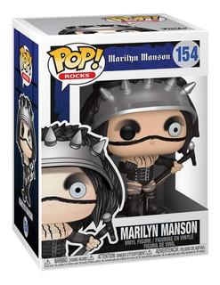 Funko Pop Rocks | Marilyn Manson | Vinyl Figure | #154