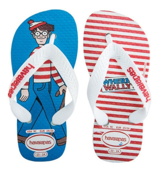 Ojotas Havaianas Kids Wally Niños Originales