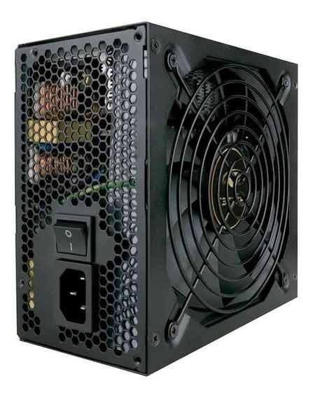 Fonte Alim Atx 600w Reais 80plus Bronze C3 Tech Ps-g600b