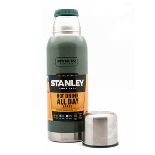 Termo Stanley Adventure 1 Litro Tapon Cebador Acero Inoxidable Original Ml Full