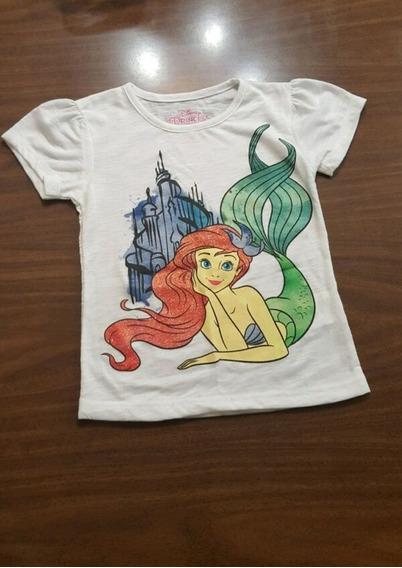 Playera Sirenita Little Mermaid Disney Princess Original