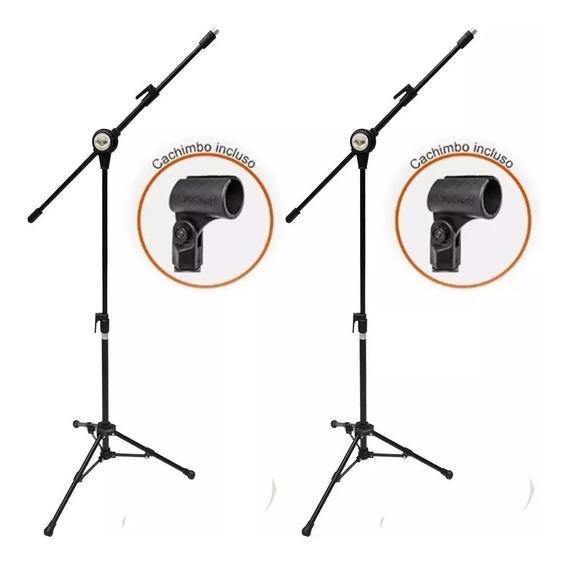 2 Pedestaisl Suporte Para Microfone Vector Pmv 100p