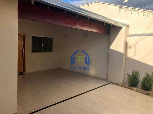 Casa Com 3 Dormitórios À Venda, 140 M² Por R$ 290.000 - Jardim Astúrias - São José Do Rio Preto/sp - Ca2266