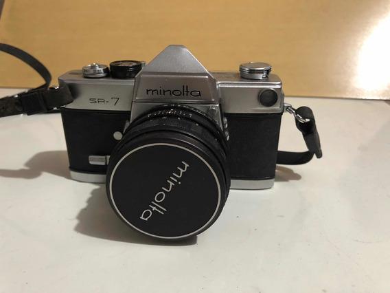 Câmera Minolta Sr-7