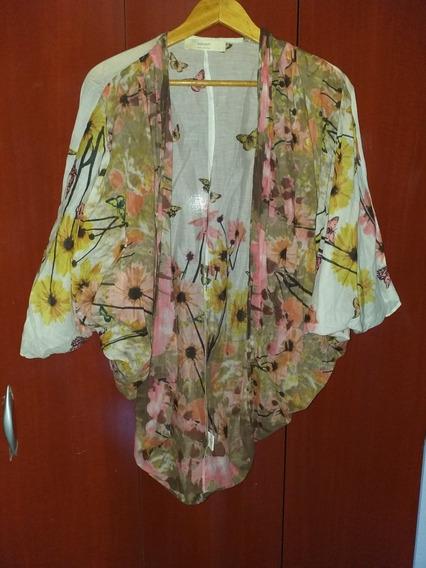India Style Kimono Saco De Gasa De Algodón Tu Impecable!