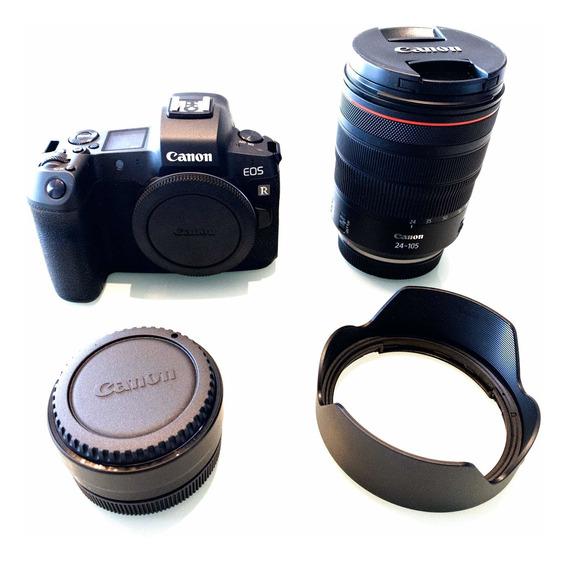 Câmera Eos R + Lente Rf 24-105mm + Adaptador Ef (usada)