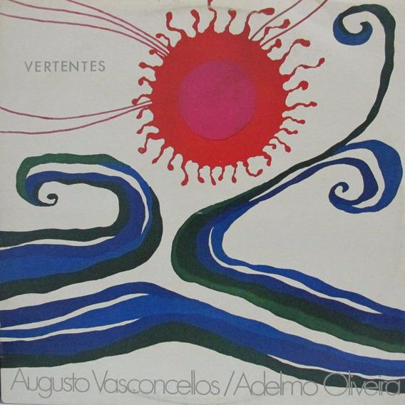 Lp Augusto Vasconcellos Adelmo Oliveira Vertentes Autografad