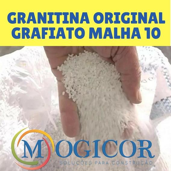 Granitina 10 Kg Verdadeira Grafiato Malha10 Até 2un. Compr