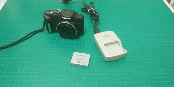 Câmera Canon Sx170 Is Semi Profissional Zoom 16x